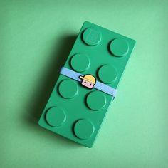 bento lego vert grand modèle