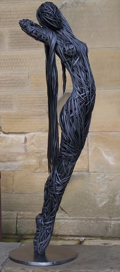 wire art person - Google Search
