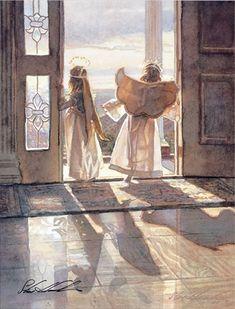 'Angels at the Door' by Steve Hanks