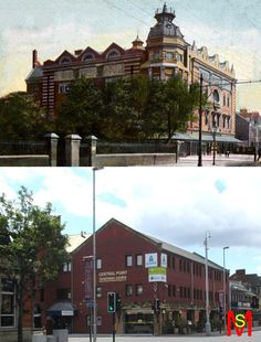 The Grand Opera House which became The Gaumont cinema on Linthorpe Road Middlesbrough.