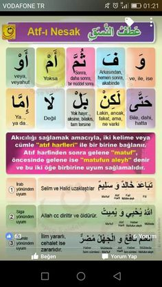 Learn Turkish Language, Arabic Language, Turkish Lessons, Quran Arabic, Language Quotes, Beautiful Arabic Words, Learning Arabic, Communication, Turkey