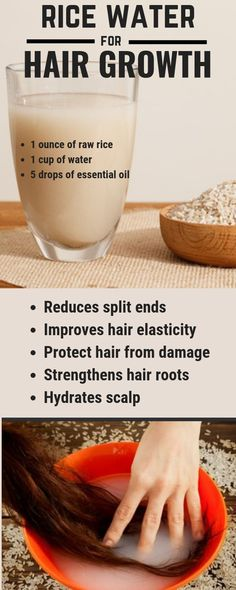 Powerful Rice Water Recipes For Healthy Natural Hair Growth In Just 1 Week