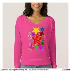 #ColorfulStarlightLullaby #NeonPink #OffShoulderShirt by #MoonDreamsMusic