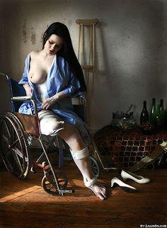 Cadeirantes em Foco: Beleza exposta