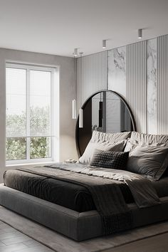 Modern Master Bedroom, Master Bedroom Design, Contemporary Bedroom, Home Bedroom, Modern Luxury Bedroom, Study Room Design, Home Room Design, Home Interior Design, Living Room Designs