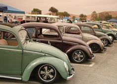 Split cal-look VW bugs