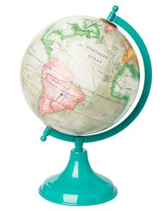 COLOR GLOBE decoration turquoise | Statues | Statues | Decoration | Interior | INDISKA Shop Online