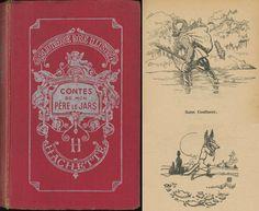 Jean Routier - Contes de mon père le jars, Léonce Bourliaguet, Hachette Bibliothèque Rose Illustrée 1944
