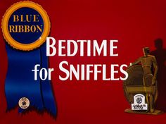 Image result for bedtime for sniffles