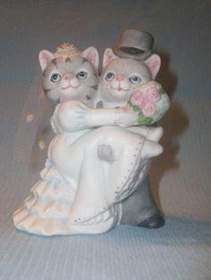 cats, bride and groom  Kitty Cucumber
