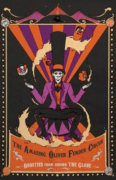 Creepy Carnival Halloween Party Ideas
