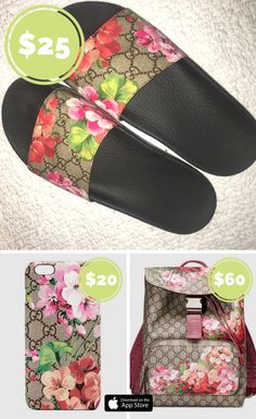 3f7fe280f0f6f4 Gucci bloom slides Limited edition Gucci bloom slides. Bought from ...