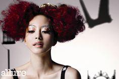 Queen of hearts hair!! Love!! :)