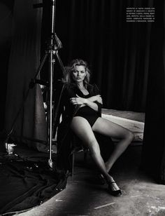 Kate Moss for Vogue Italia // Photo by Peter Lindbergh for Vogue Italia