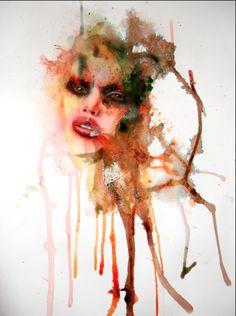 latest ink portrait  ©2013kerrybeall