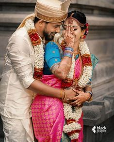 South Indian Couple Portraits That You Must Take Inspiration From! Hindu Wedding Photos, Indian Wedding Poses, Indian Wedding Couple Photography, Wedding Couple Photos, Couple Photography Poses, Indian Weddings, Photography Ideas, Wedding Couples, Bridal Pictures