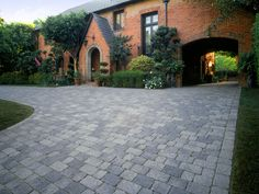 Driveway Paving Stones Pictures - Brick Pavers For Driveways - System Pavers