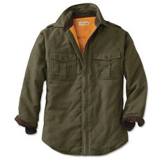Just found this Flannel Lined Bush Shirt - Perfect Flannel-Lined Long-Sleeved Bush Shirt -- Orvis on Orvis.com!