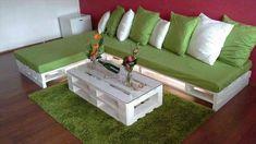 Top 104 Unique DIY Pallet Sofa Ideas | 101 Pallet Ideas - Part 8