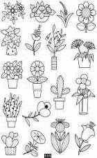 Trendy Plants Doodle Coloring Pages Doodle Coloring, Colouring Pages, Coloring Books, Doodle Drawings, Easy Drawings, Doodle Art, Doodle Icon, Doodle Lettering, Flower Doodles