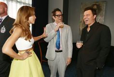 Pin for Later: The MTV Movie Awards Fun You Didn't See During the Show Jessica Alba, Johnny Knoxville, and Seth MacFarlane laughed it up behind the scenes.