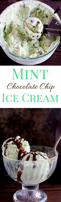 My Mint Chocolate Chip Ice Cream recipe has got to be the best hands down. Full of great mint flavor and plenty of chips, this ice cream will help you cool during those hot summer months!