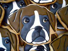 Dog cookies. Art that is food.