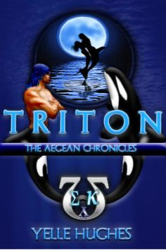 Cover for first novel, Triton the Aegean Chronicles