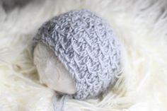 Knitting PATTERN The Frankie Knitted Bonnet by softnesslove