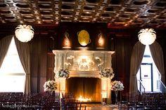 An exquisite fireplace at the Julia Morgan Ballroom, San Francisco.