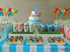 Risultati immagini per pocoyo decoracion cumpleaños 2nd Birthday Party Themes, Baby Boy 1st Birthday, Birthday Candy, Birthday Diy, First Birthday Parties, Birthday Decorations, Birthday Ideas, Happy 1st Birthdays, Confetti