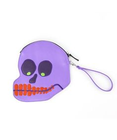 David Shrigley Skull Purse made exclusively for Third Drawer Down