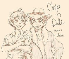 Human Chip and Dale