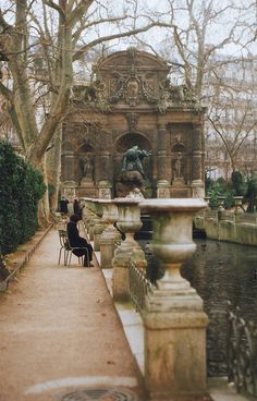 Luxembourg Gardens is the second largest public park in Paris, France. The park is the garden of the French Senate, which is housed in the Luxembourg Palace.  by sarah longworth