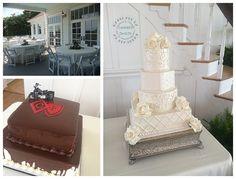 Pearl Decorated Wedding Cake