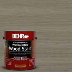 BEHR Premium 8 Oz ST130 California Rustic Semi Transparent