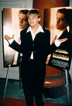 Leo at the Basketball Diaries Premiere (1995)