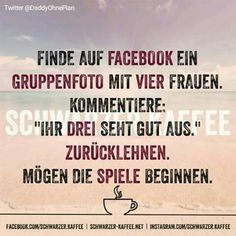 Facebook mit 4 Frauen Funny Pix, Wtf Funny, Funny Facts, Hilarious, Funny Stuff, Geek Quotes, Jokes Quotes, Funny Quotes, Daily Jokes
