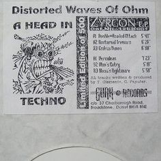 Distorted Waves OF Ohm - Zyrcon EP For fans of Acid- Hardcore- Techno  Like the project to repress the vinyl record. https://diggersfactory.com/project/96/zyrcon-ep