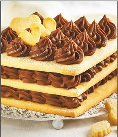 Dessert Recipes: Biscuit Cake with Truffle