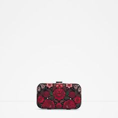 Image 1 of EMBROIDERED EVENING BAG from Zara