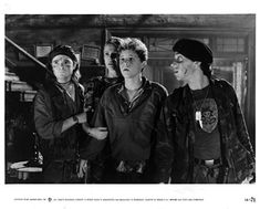 Tumblr is a place to express yourself, discover yourself, and bond over the stuff you love. It's where your interests connect you with your people. Lost Boys Movie, The Lost Boys 1987, 80s Movies, Great Movies, Horror Movies, Dianne Wiest, Corey Haim, Real Vampires, Corey Feldman