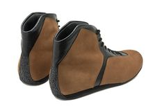 Modern Driver Shoes - Driving Shoe aus Kalbleder und Nubuk, handgefertigt als Maßschuh oder Maßkonfektion - Carsten Moch Schuhmanufaktur