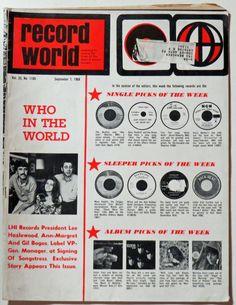 Record World Magazine (9-7-68)