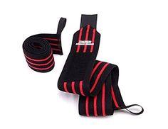 Inzer Iron Z Wrist Wraps (Pair) - Powerlifting Weightlift...