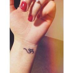 Ohm tattoo #ohm #shanti Tattoos