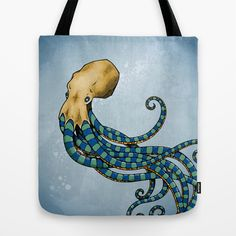 Octopuss Tote Bag by Andreas Preis