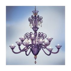 Av Mazzega Venetian Melissa 12 Arm Chandelier ($12,360) ❤ liked on Polyvore featuring home, lighting, ceiling lights, murano chandeliers, murano lighting, hanging chain lamps, chain lamp and chain chandelier