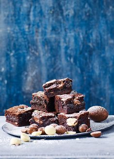 How to make triple choc brownies using leftover Easter eggs