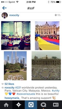 SOS Venezuela worldwide. Feb 22 2014